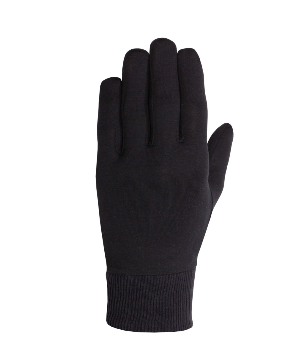 Seirus Arctic Silk glove in Black