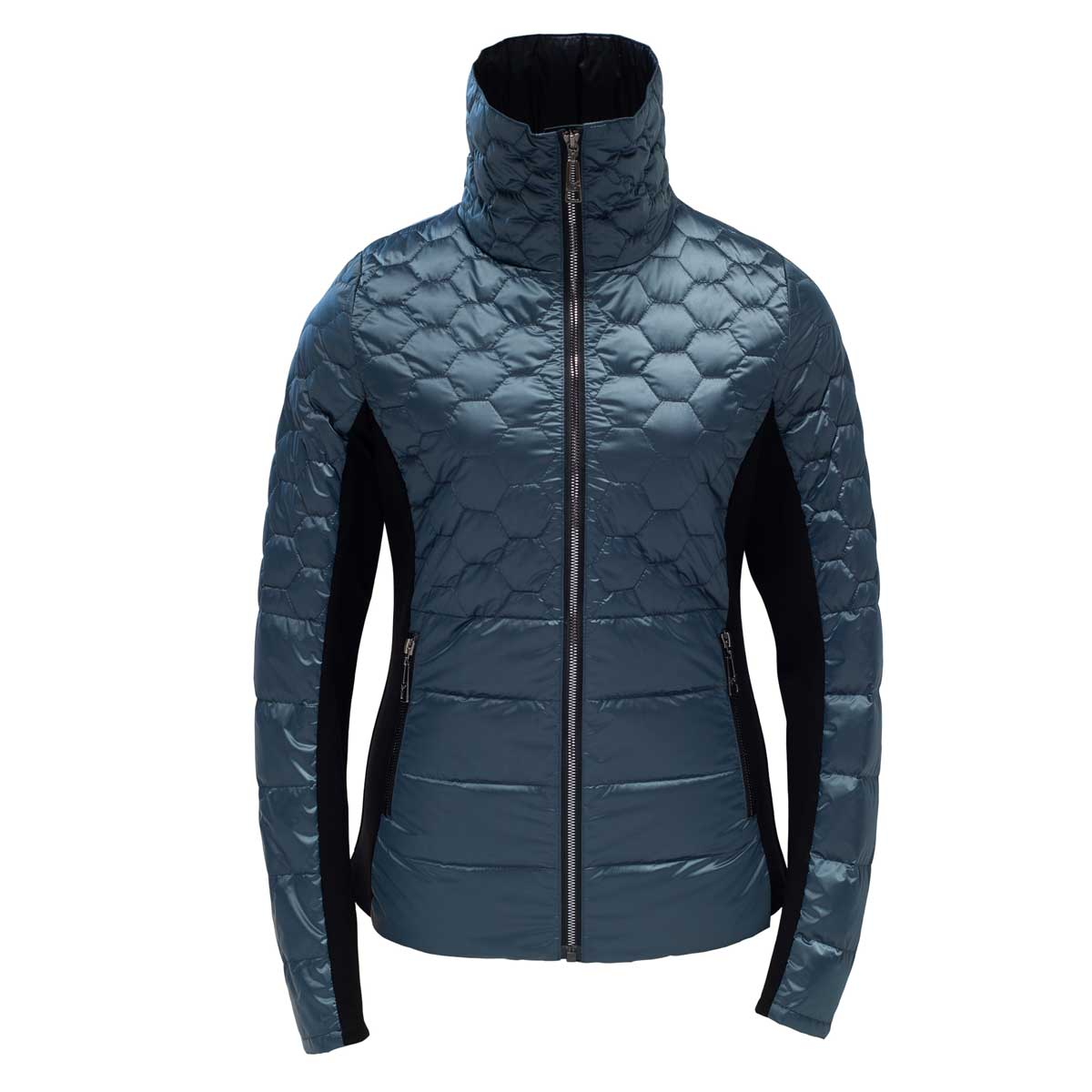 Skea Women's Riley Jacket in Bering Sea and Black