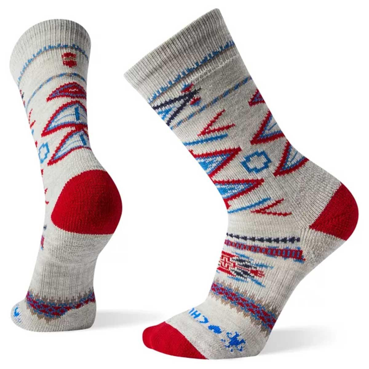 Smartwool men's CHUP Gando Crew Sock in Ash main view