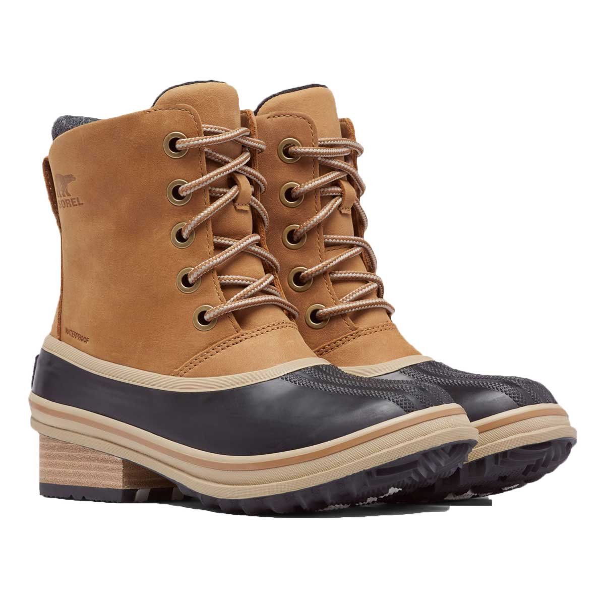 Sorel Women's Slimpack III Lace Boot in Elk