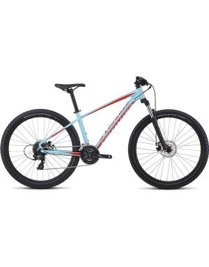 Specialized Men's Pitch 27.5 in Light Blue and Rocket Red