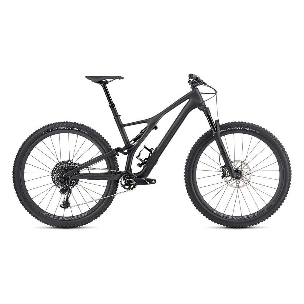 Specialized Stumpjumper FSR ST Expert Carbon 29 in Carbon and Black