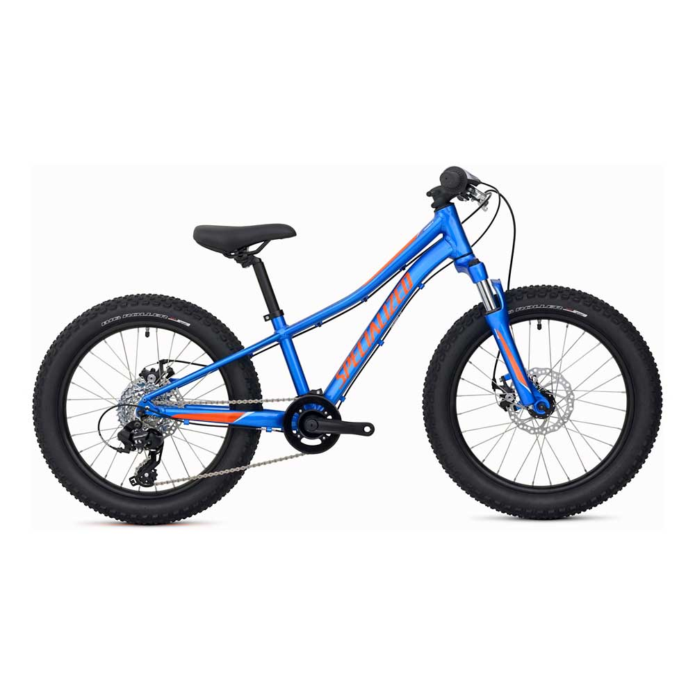 Specialized Kids' Riprock 20 Bike in Royal Blue and Moto Orange