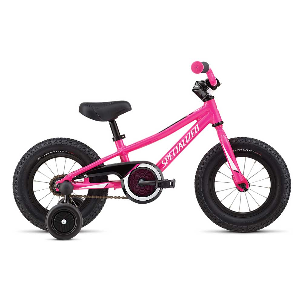 Specialized Kids' Riprock Coaster 12 in Acid Purple and Black and White