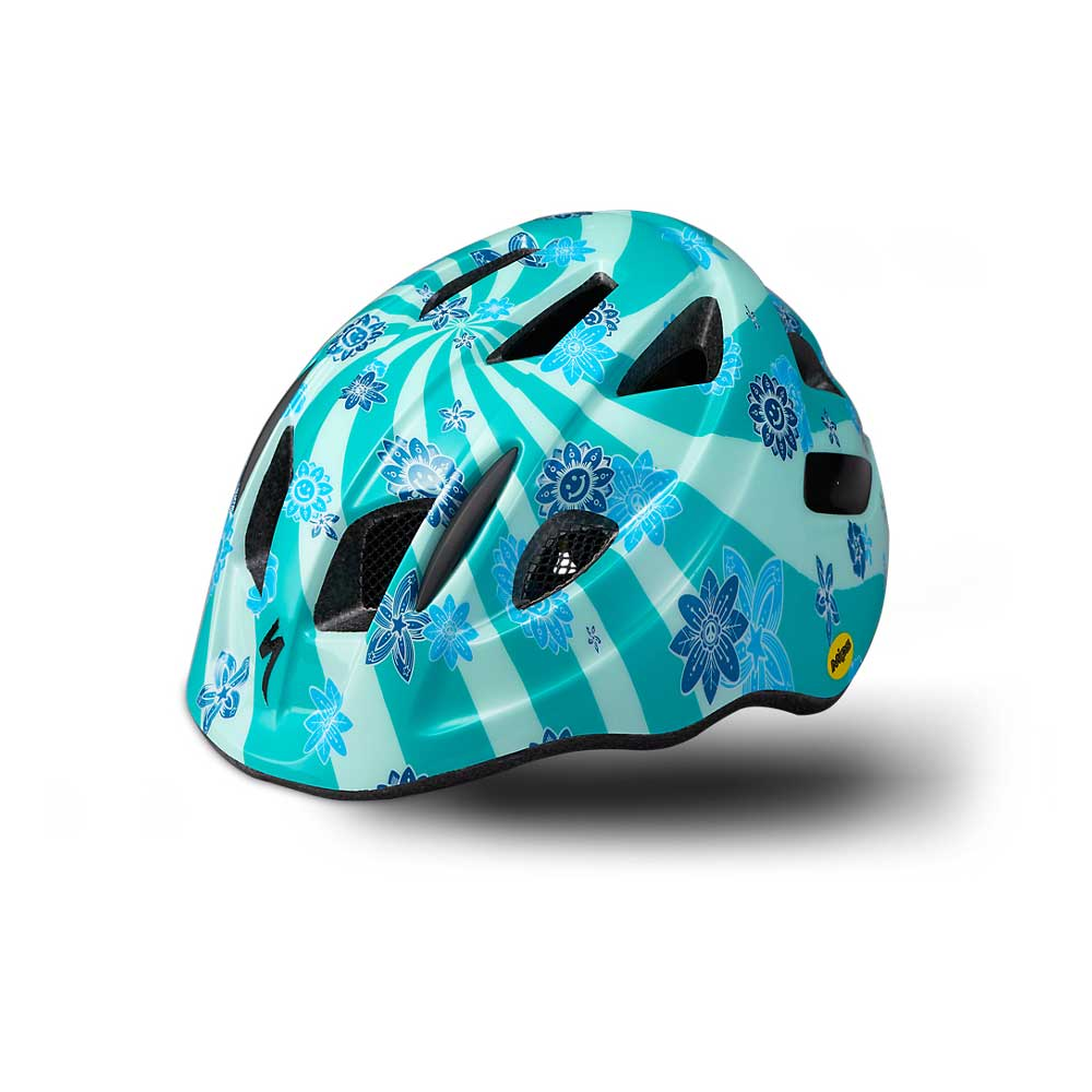 Specialized Kid's Mio SB Helmet in Acid Mint Swirl
