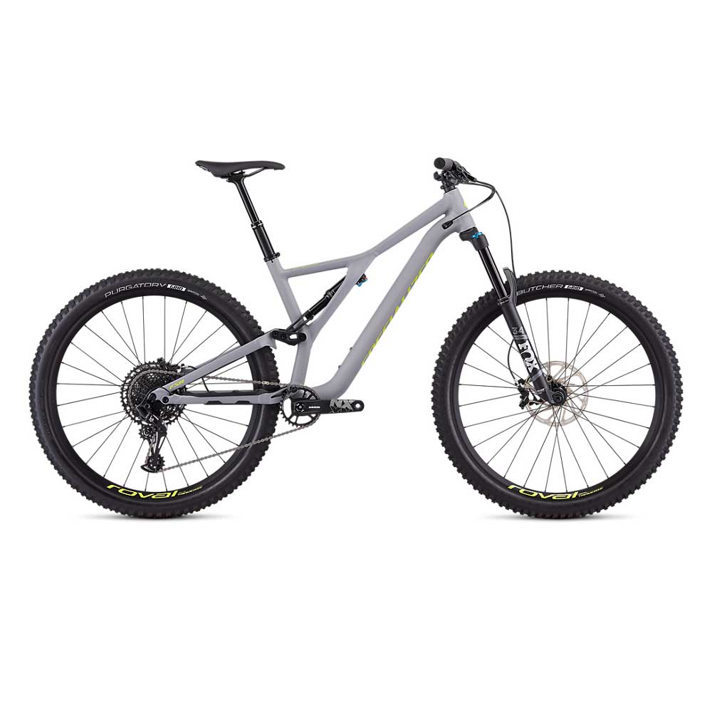 Specialized Stumpjumper FSR Comp 29 in Cool Grey and Team Yellow.01