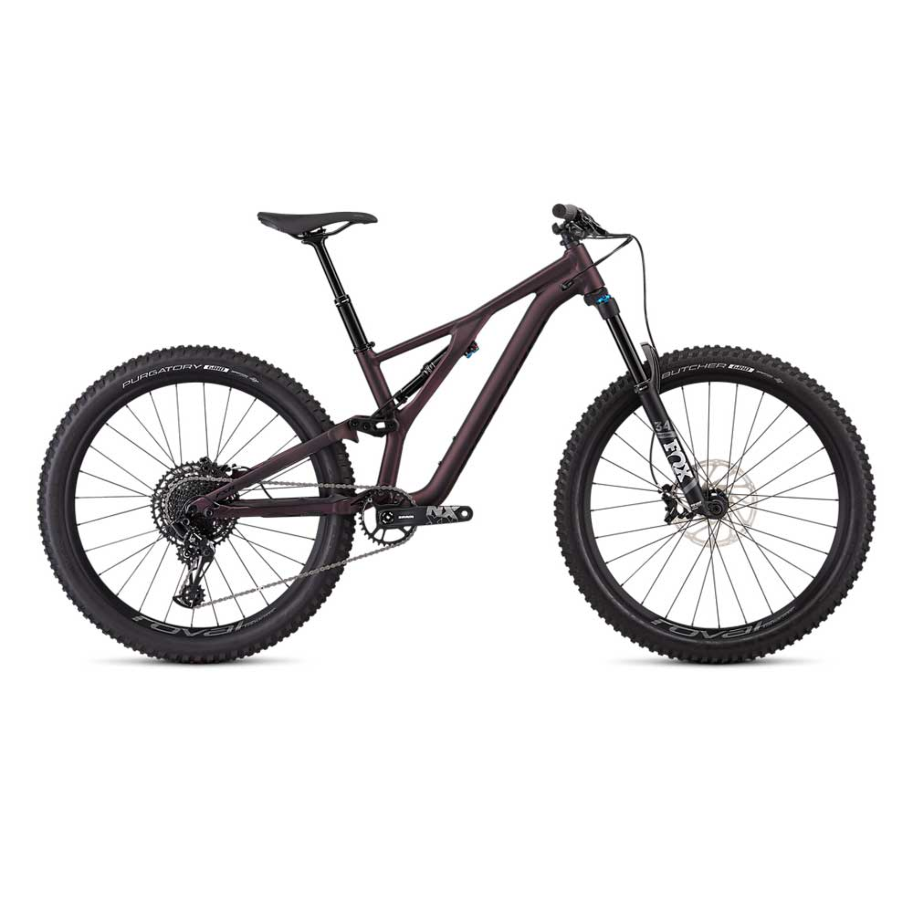 Specialized Women's Stumpjumper FSR Comp 27.5 in Cast Berry and Black