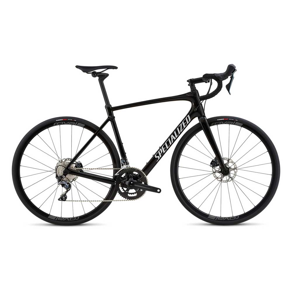 Specialized Men's Roubaix Comp in Tarmac Black and White