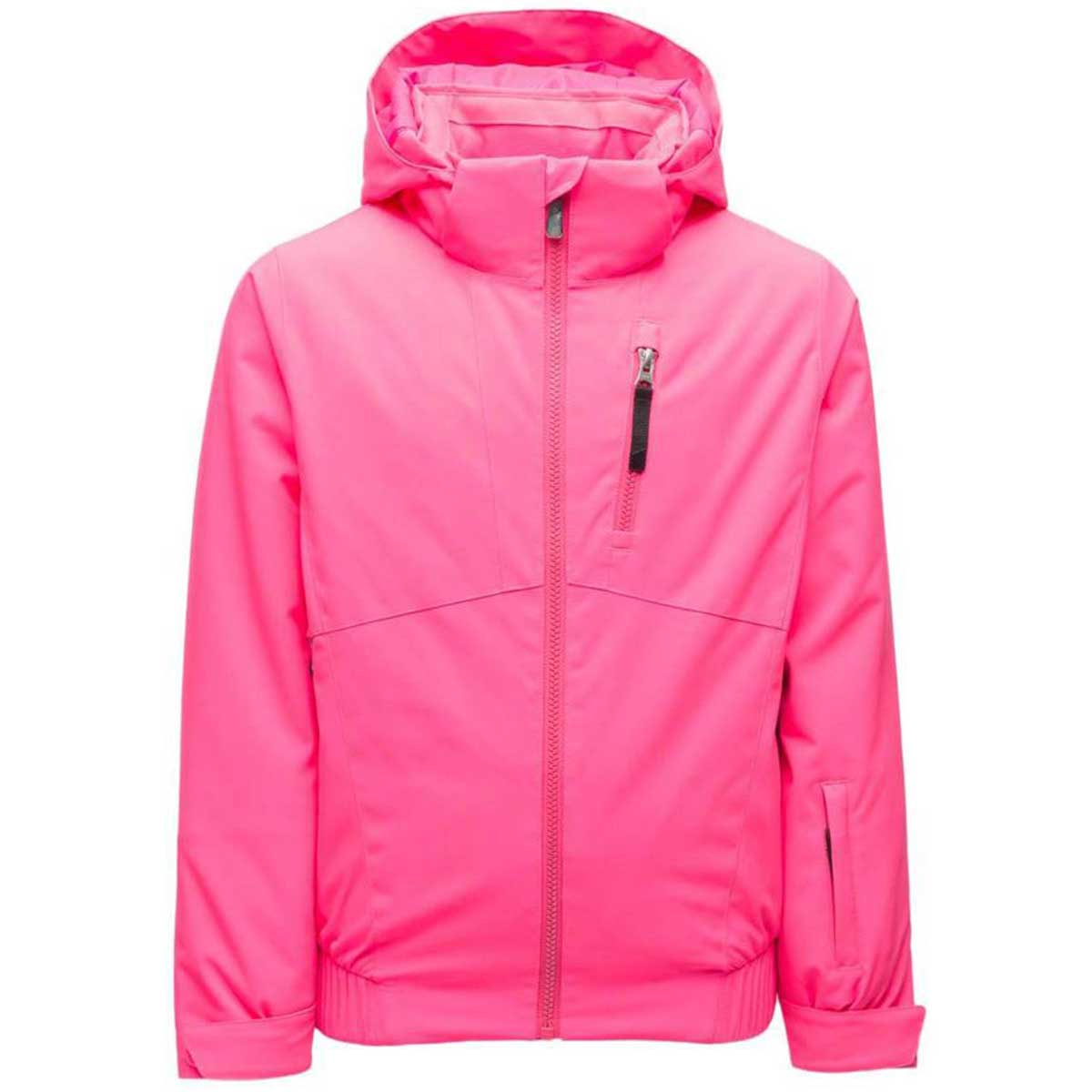 Spyder Girls' Lola Jacket in Bryte Bubblegum front view