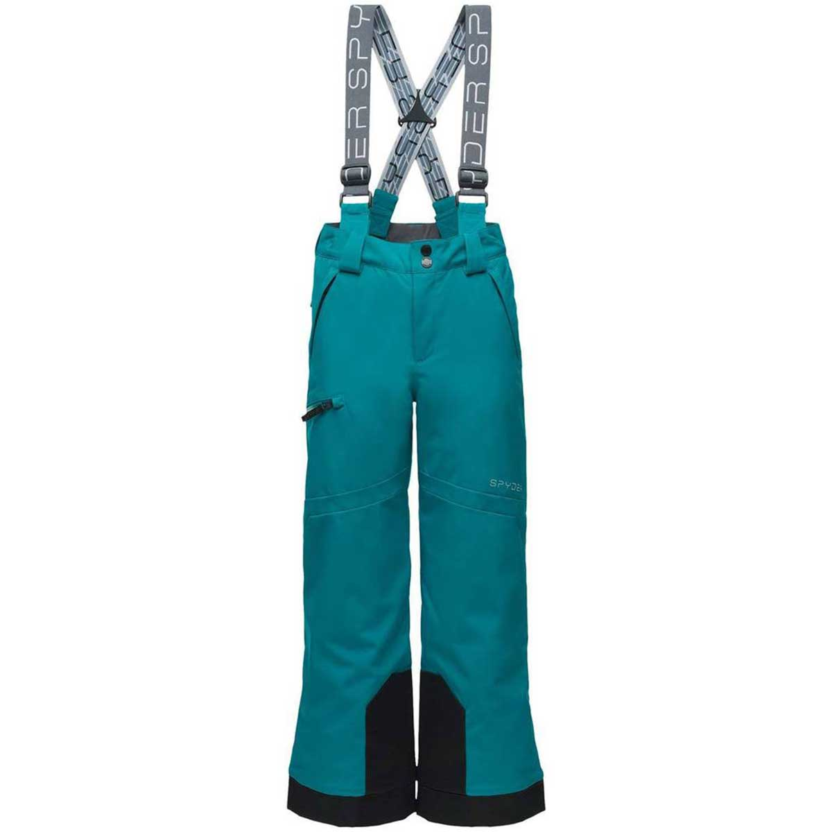 Spyder boys' Propulsion Pant in Swell front view