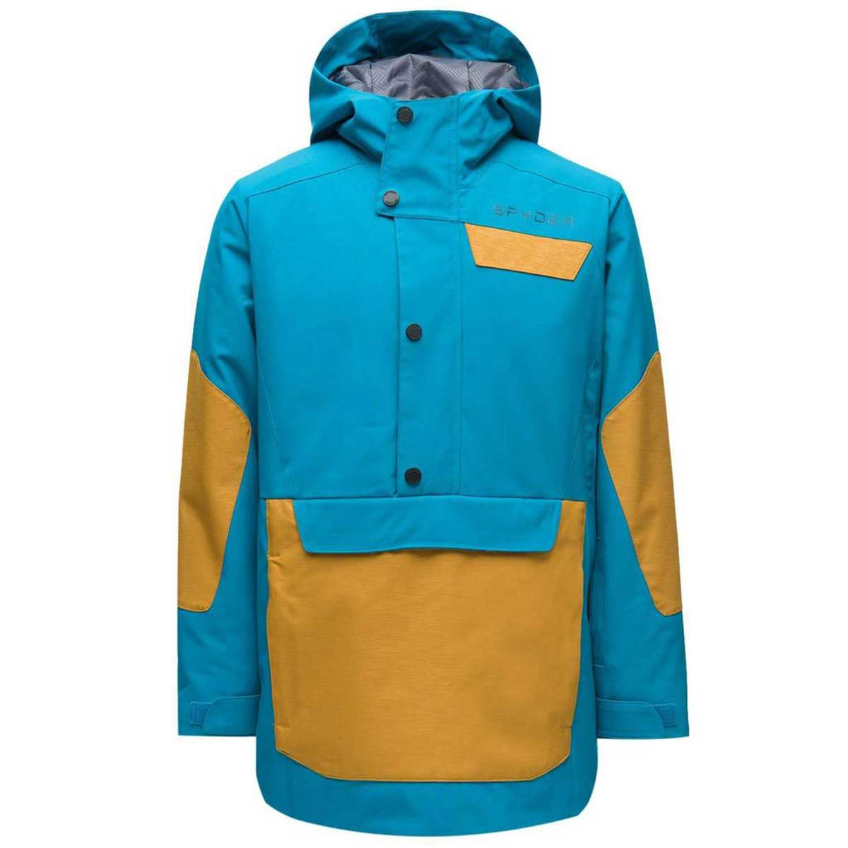 Spyder Boys' Finn Anorak in Swell front view
