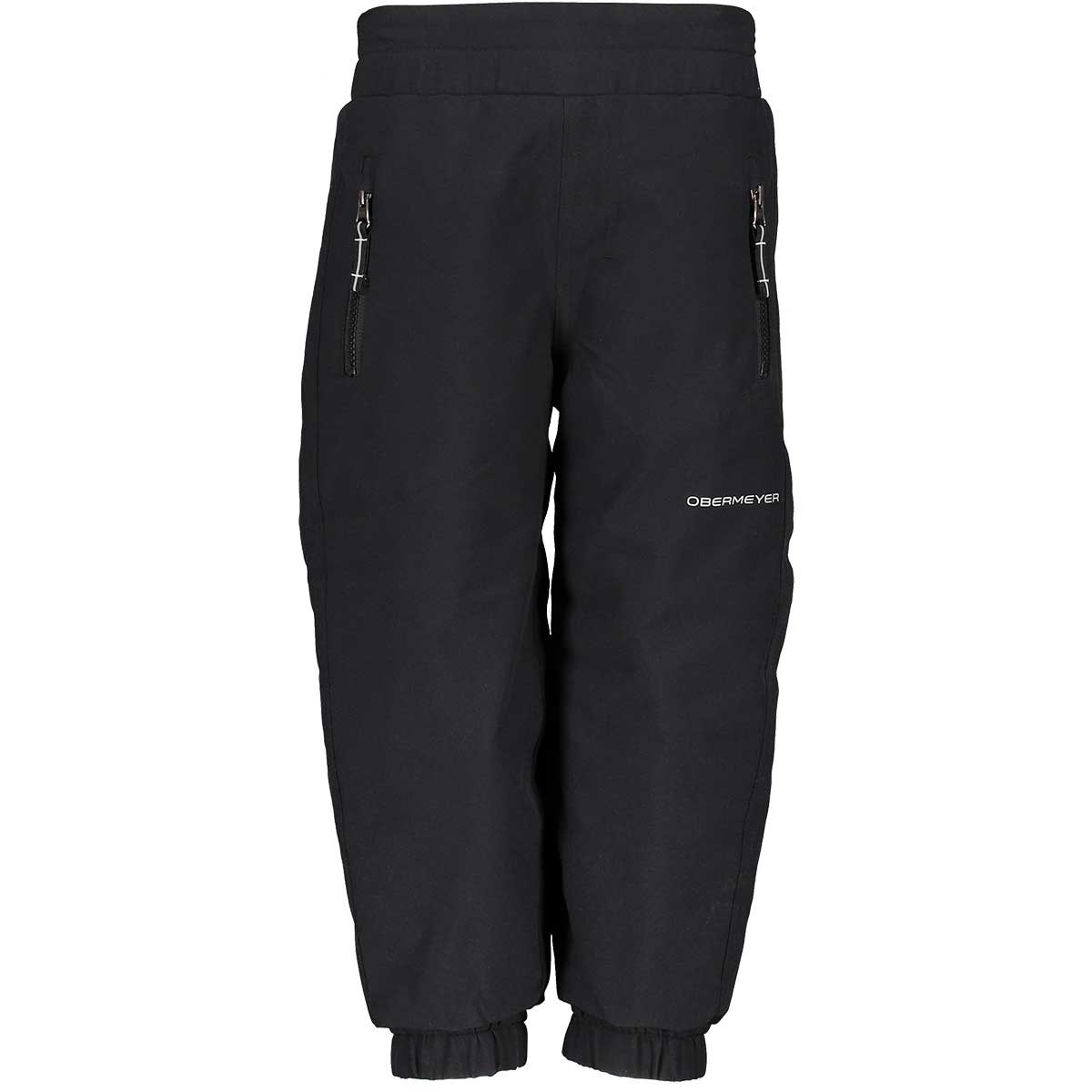 Obermeyer kids' Campbell Pant in Black front view