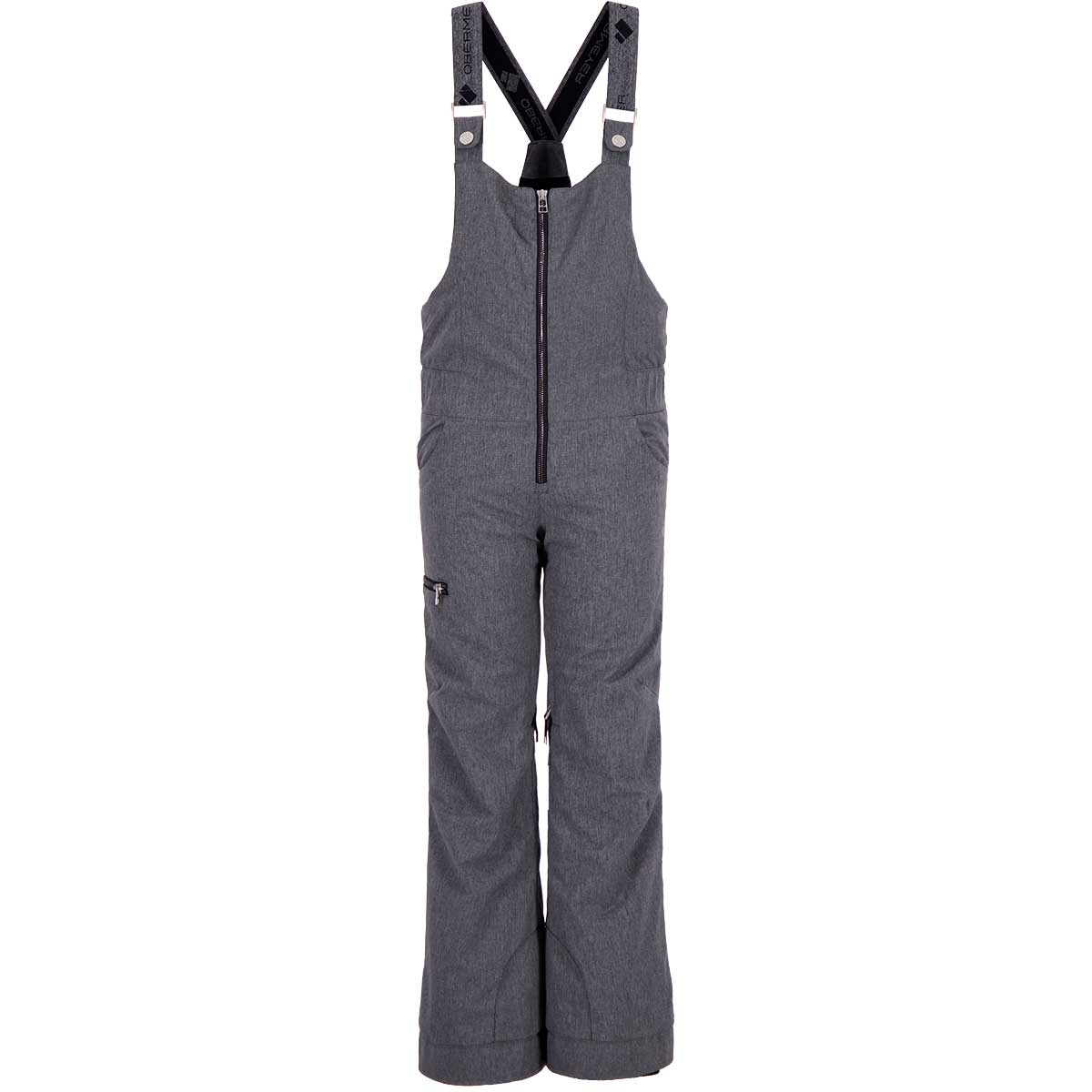 Obermeyer Teen Girls' Anya Bib Pant in Knight Black front view