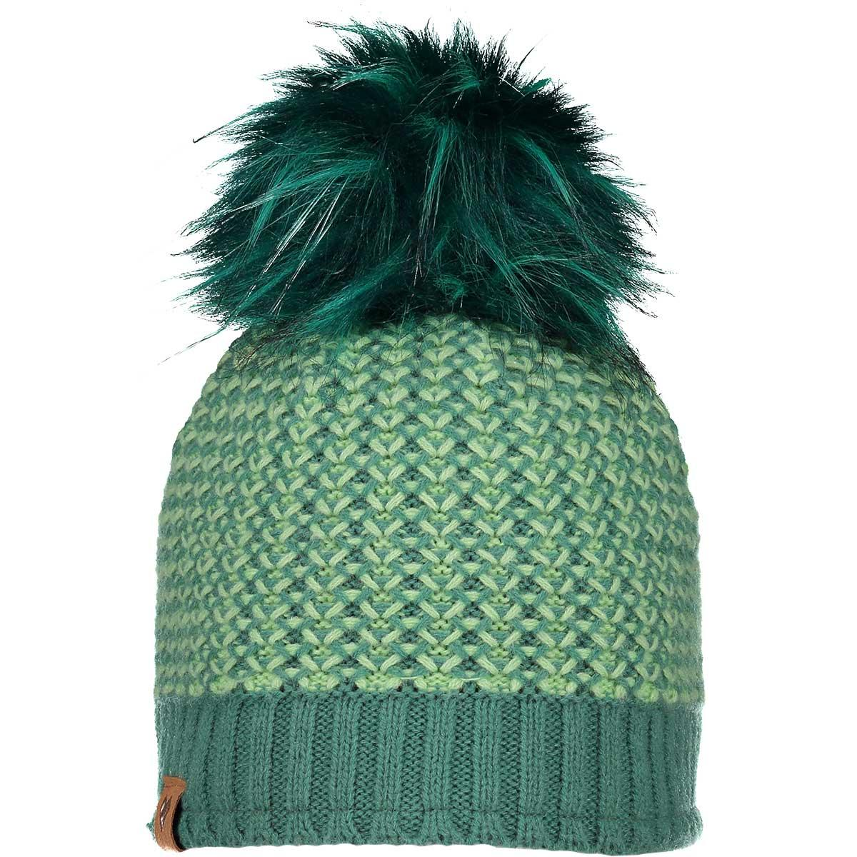 Obermeyer Teen Girls' Tucson FF Pom Beanie in Aquarius main view
