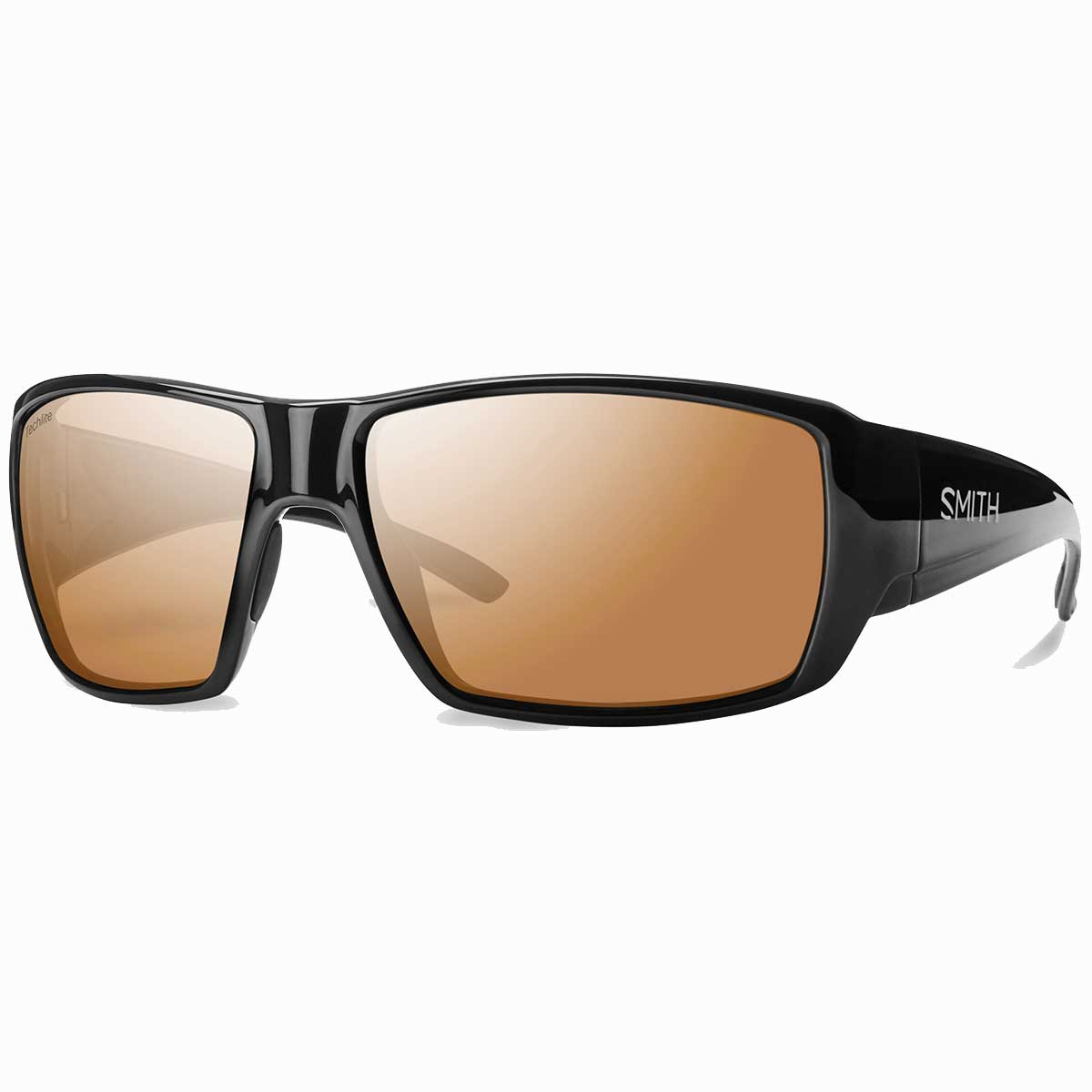 Smith Guides Choice Sunglasses Polarchromic in Black with Copper Mirror main view