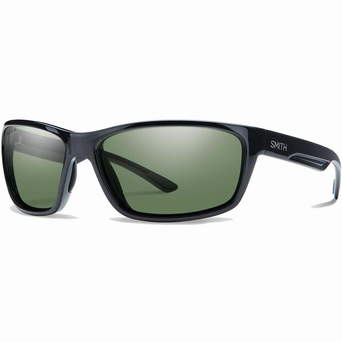 Smith Redmond Sunglasses Chromapop+ Polarized in Black with Grey Green main view