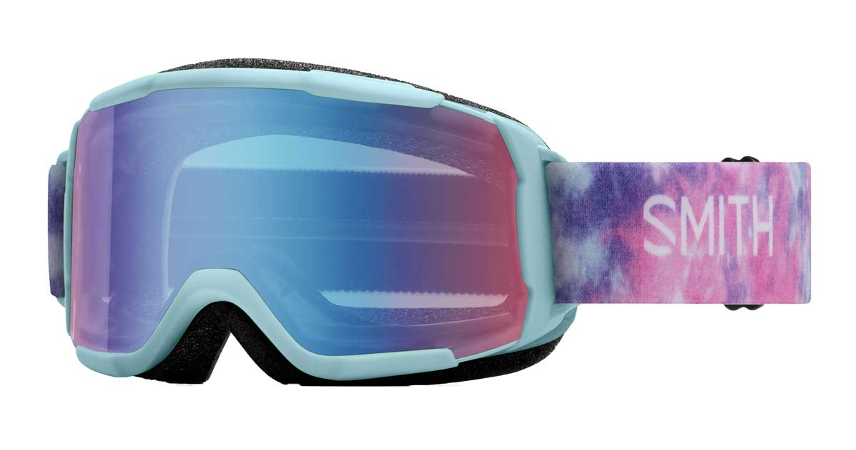 Smith Kids' Daredevil Goggle in Polar Tie Dye with Blue Sensor Mirror
