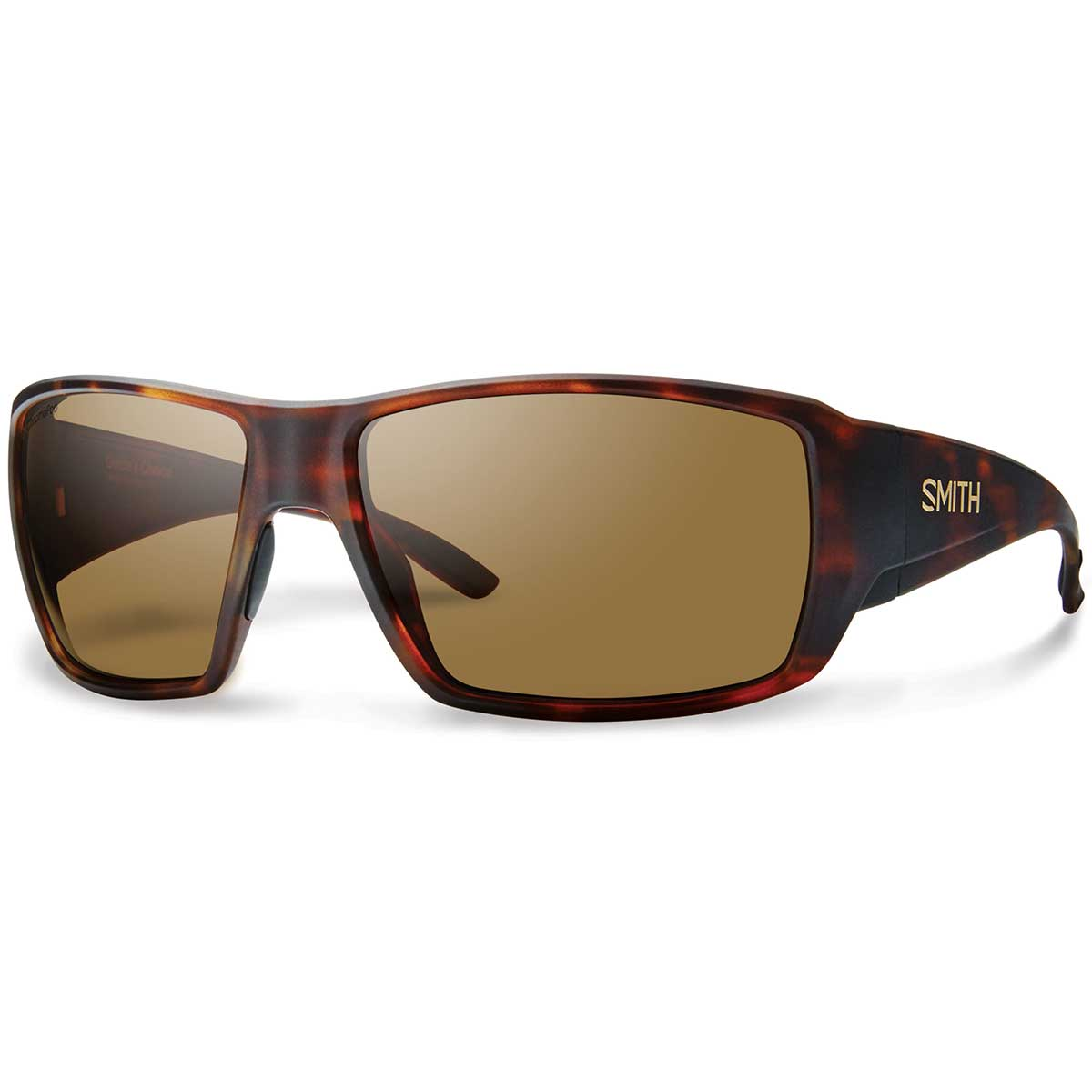 Smith Guides Choice Sunglasses Polarized Chromapop in Matte Havana with Brown main view
