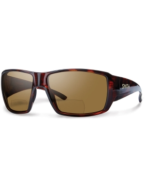 Smith Guides Choice Bifocal Polarized in Matte Havana with Brown