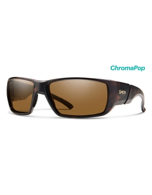 Smith Transfer Sunglasses Polarized Chromapop in Matte Tortoise with Brown