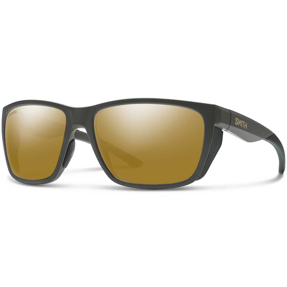 Smith Longfin sunglasses in Matte Gravy with Bronze Mirror polarized ChromaPop lenses