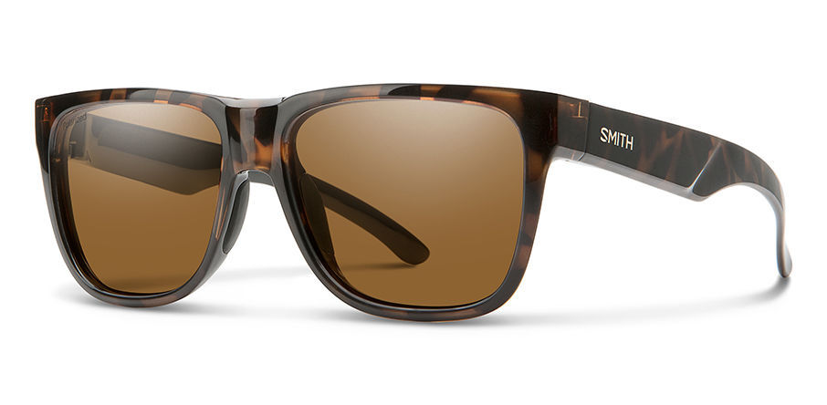 Smith Lowdown 2 Sunglasses Polarized in Tortoise with Brown main view