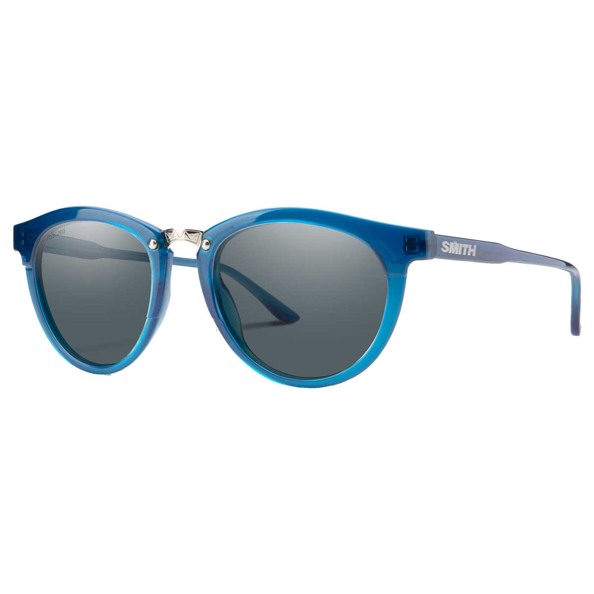 Smith Questa sunglasses in Cool Blue with Grey Polarized lenses