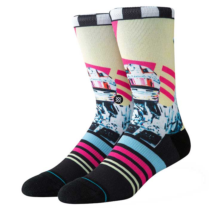 Stance Global Player crew sock in Multi