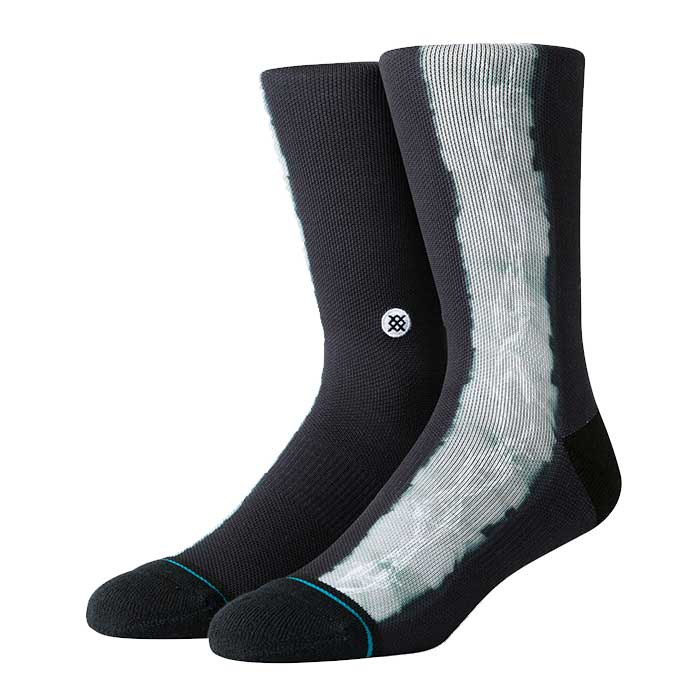 Stance Locked Out crew sock in Black