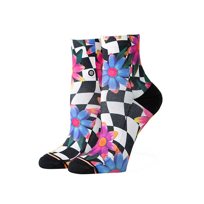 Stance Crazy Daisy lowrider sock in Black