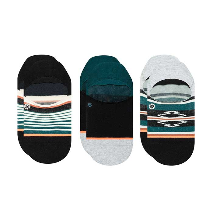 Stance Savannah invisible sock three pack with three pairs of socks