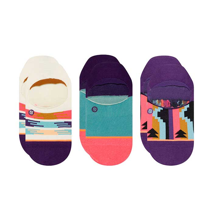 Stance Haze invisible sock three pack with three pairs of socks