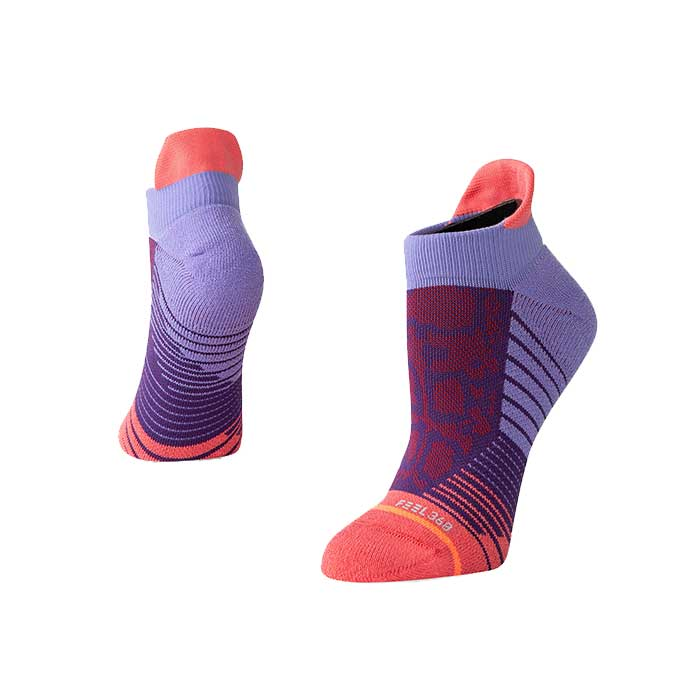 Stance Needles tab sock in purple