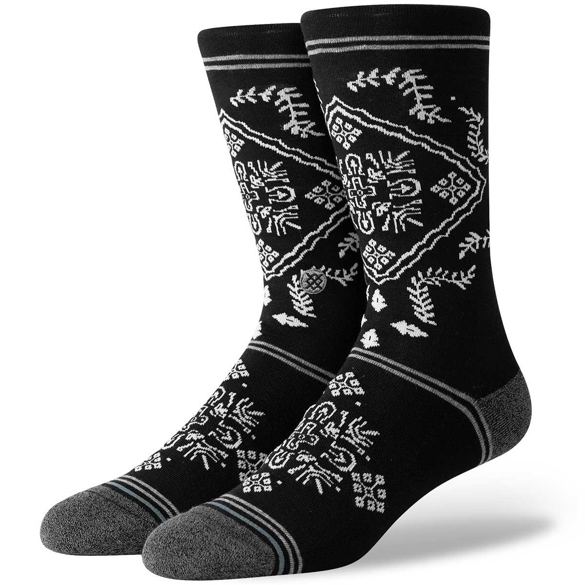 Stance Bandana sock in Black