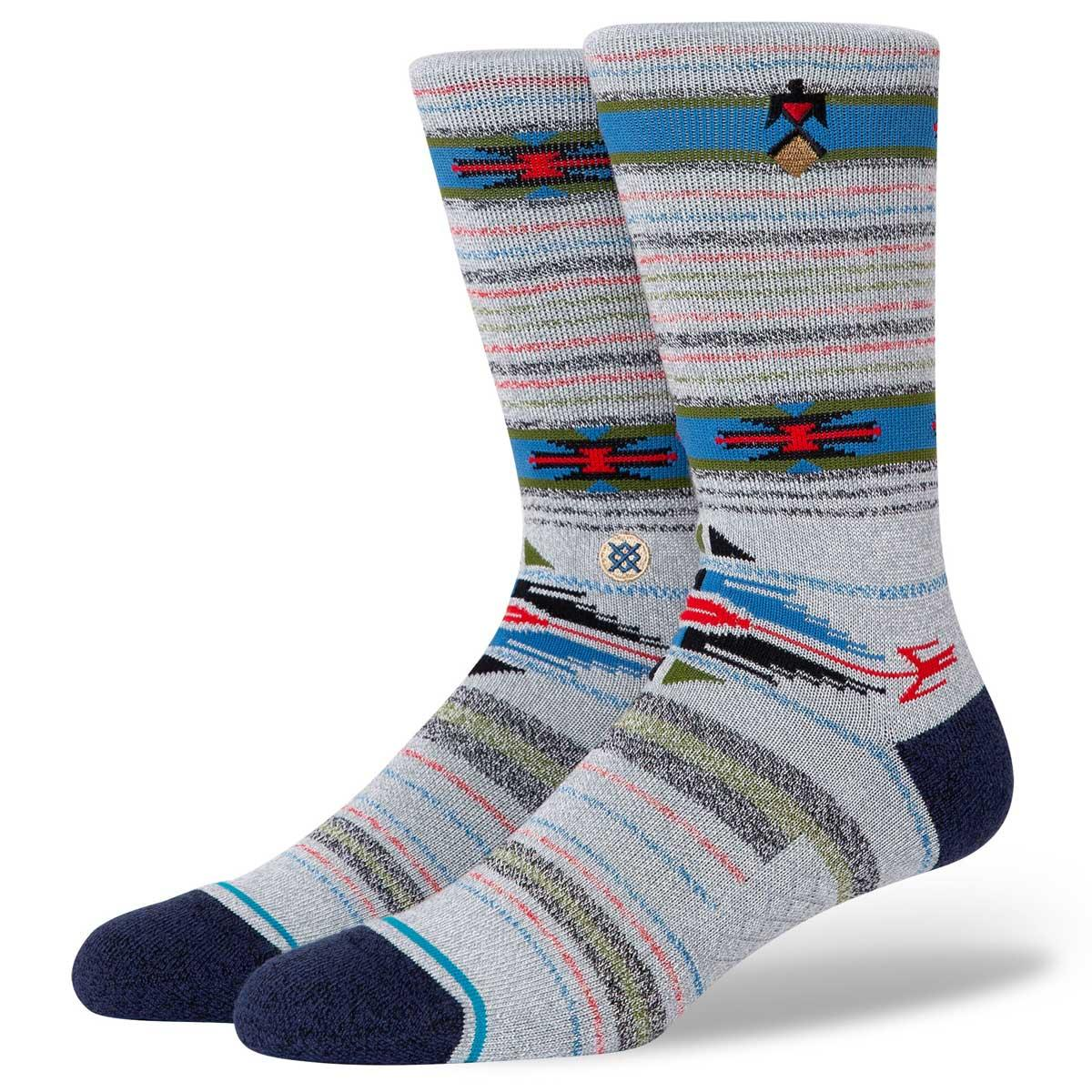 Stance Predecessor Men's Crew Sock in Grey