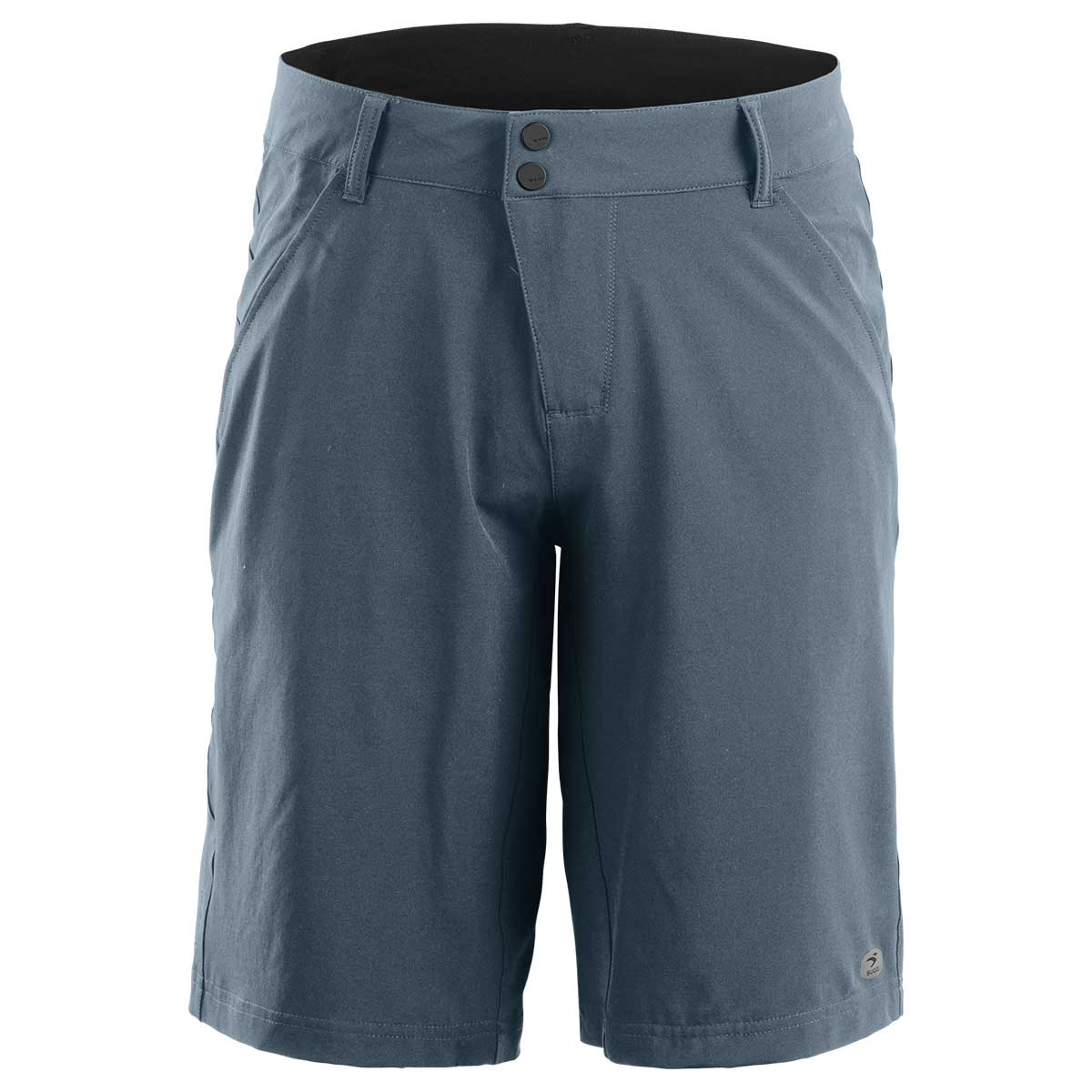 Sugoi men's RPM Lined Shorts in Coal Blue