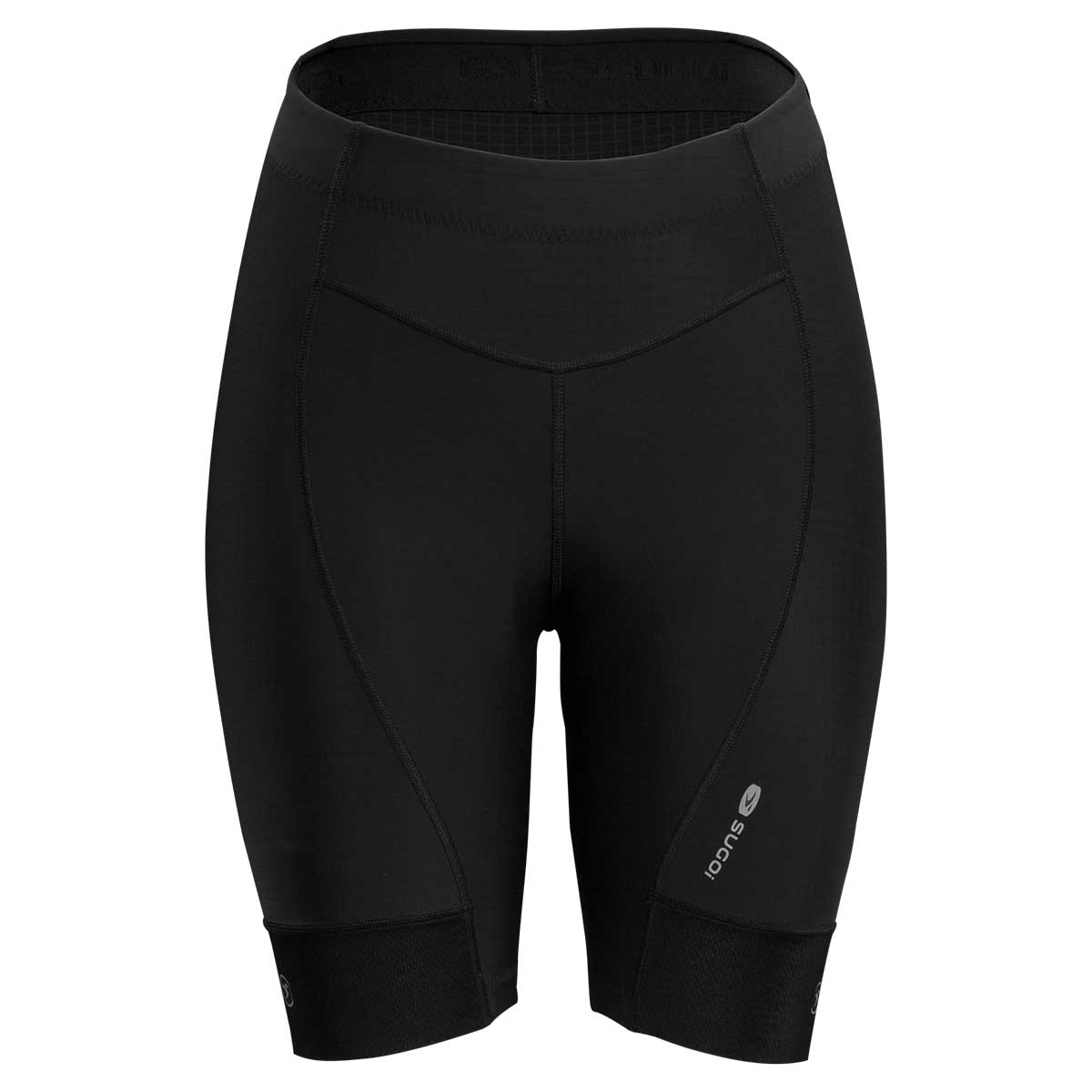 Sugoi women's Evolution bike shorts in black