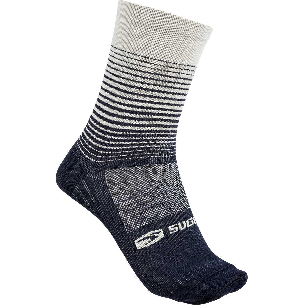 Sugoi RS Crew Sock Printed in Deep Navy