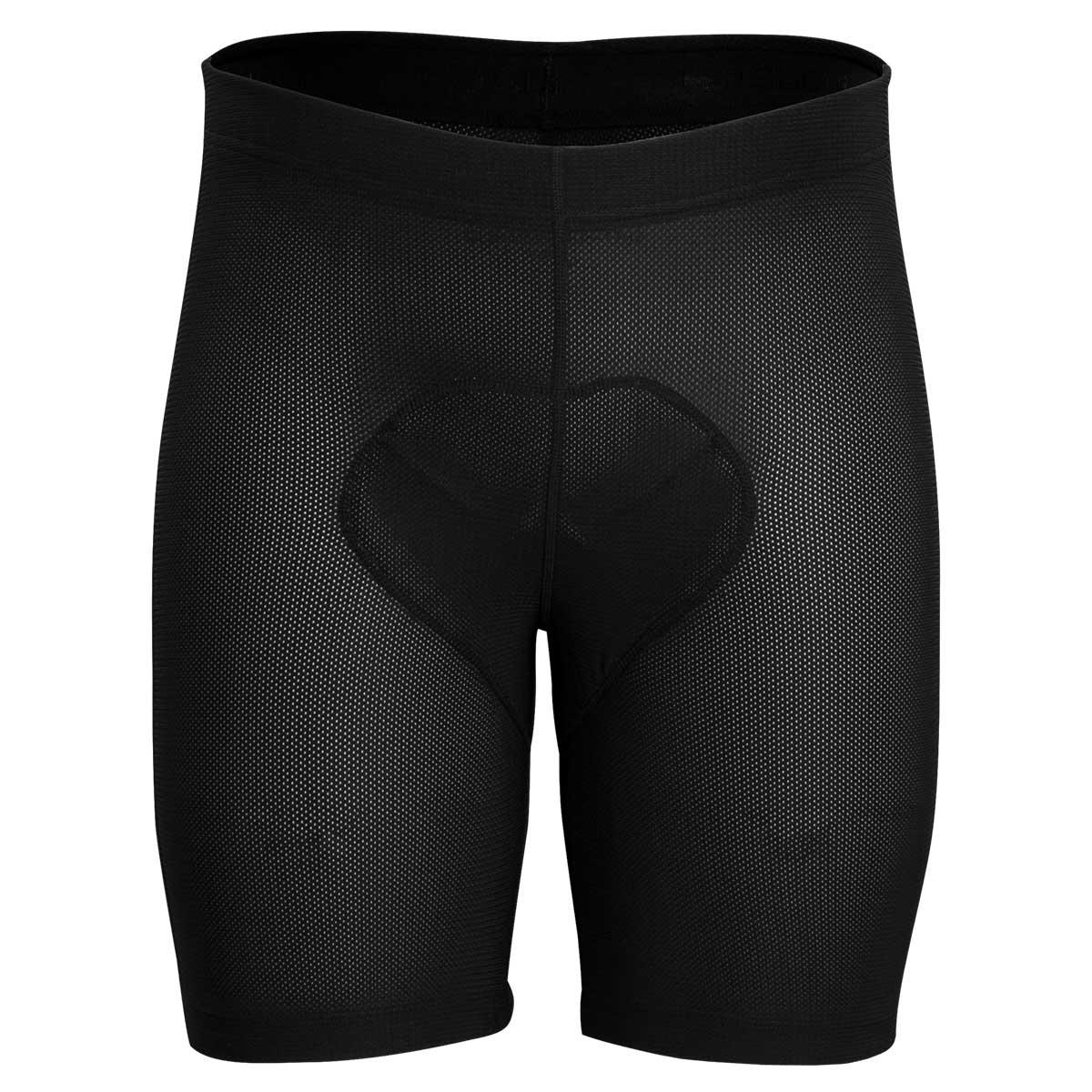 Sugoi men's RC Pro mesh liner shorts in Black