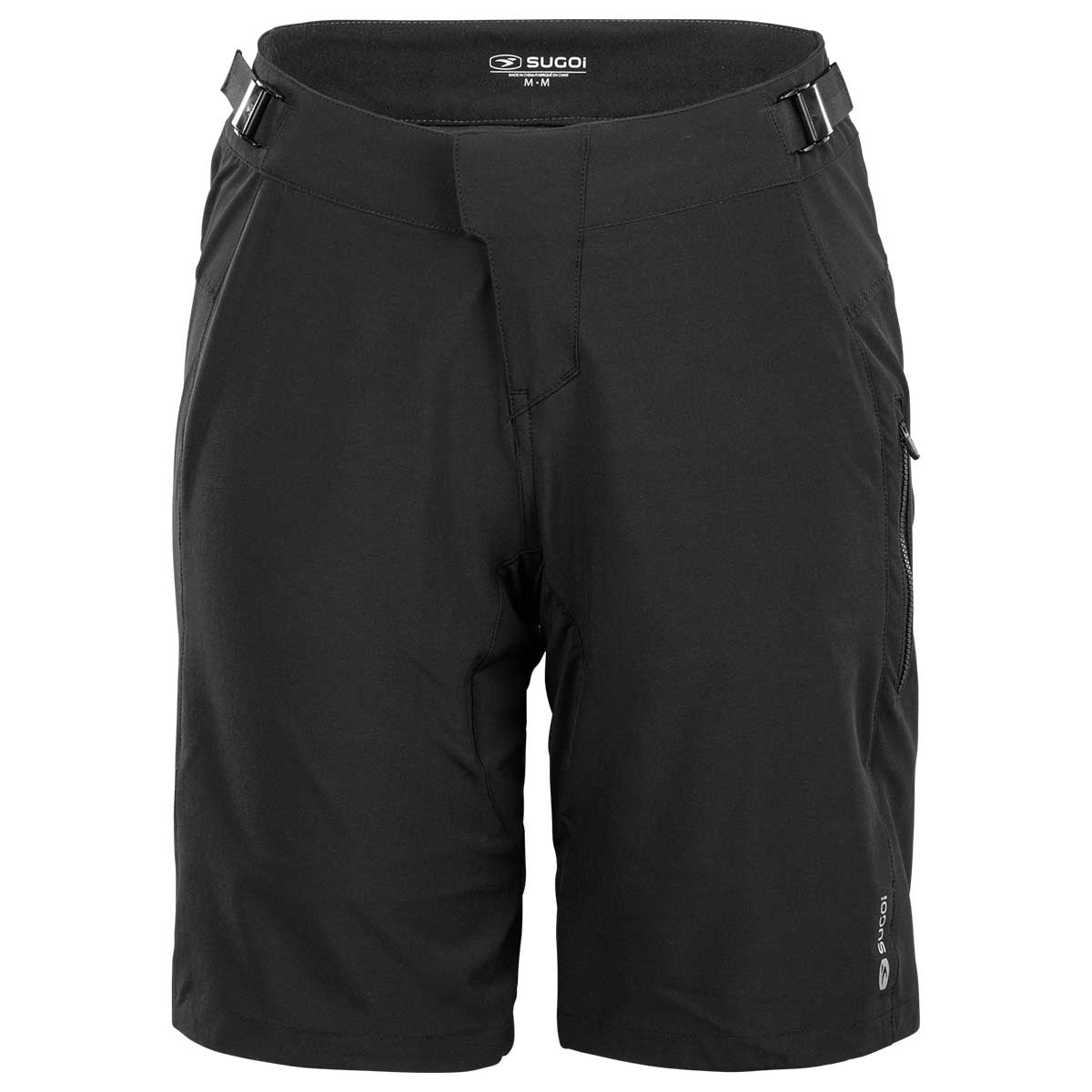 Sugoi women's Trail Short with Liner in Black