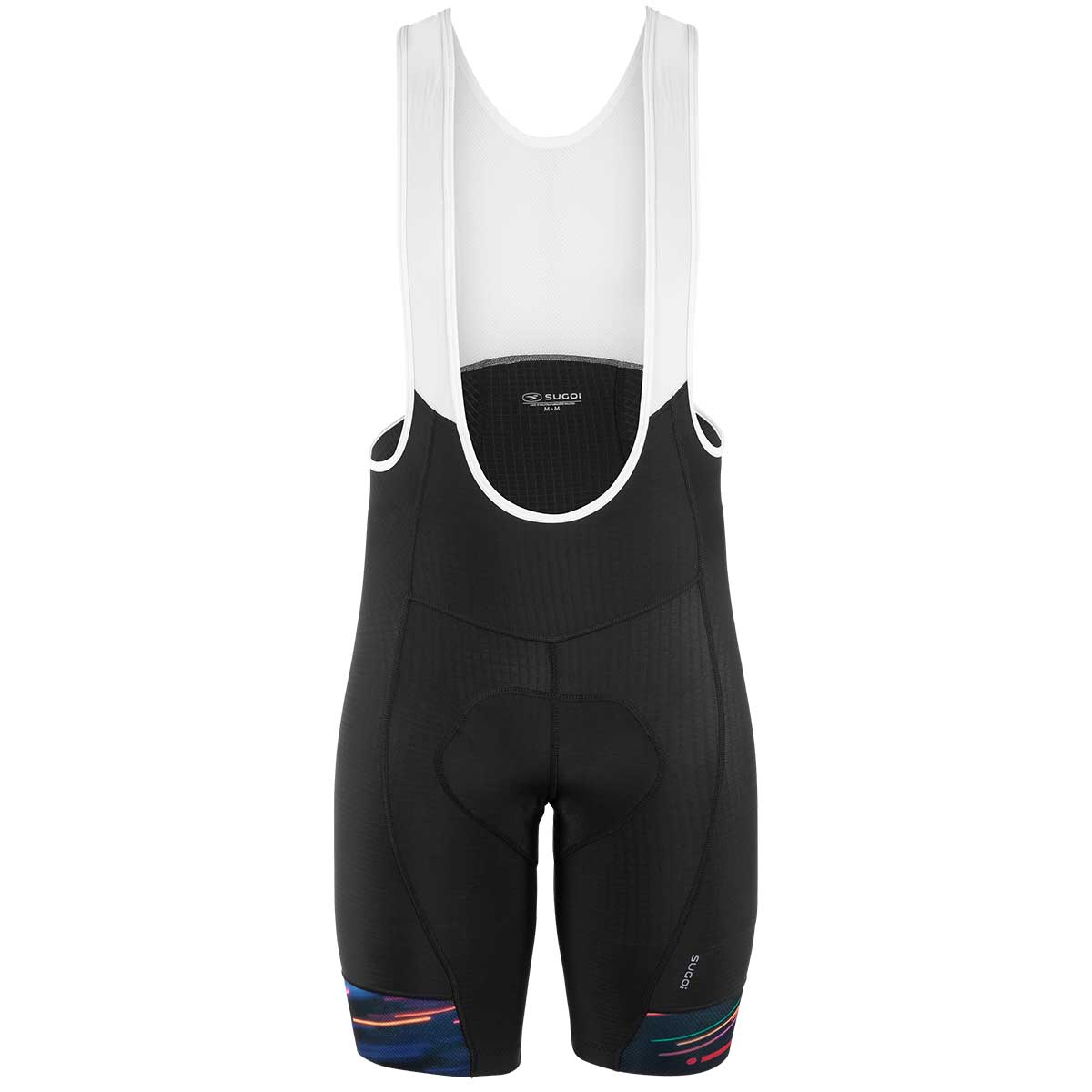 Sugoi Evolution Print Bike Bib Short in Speed