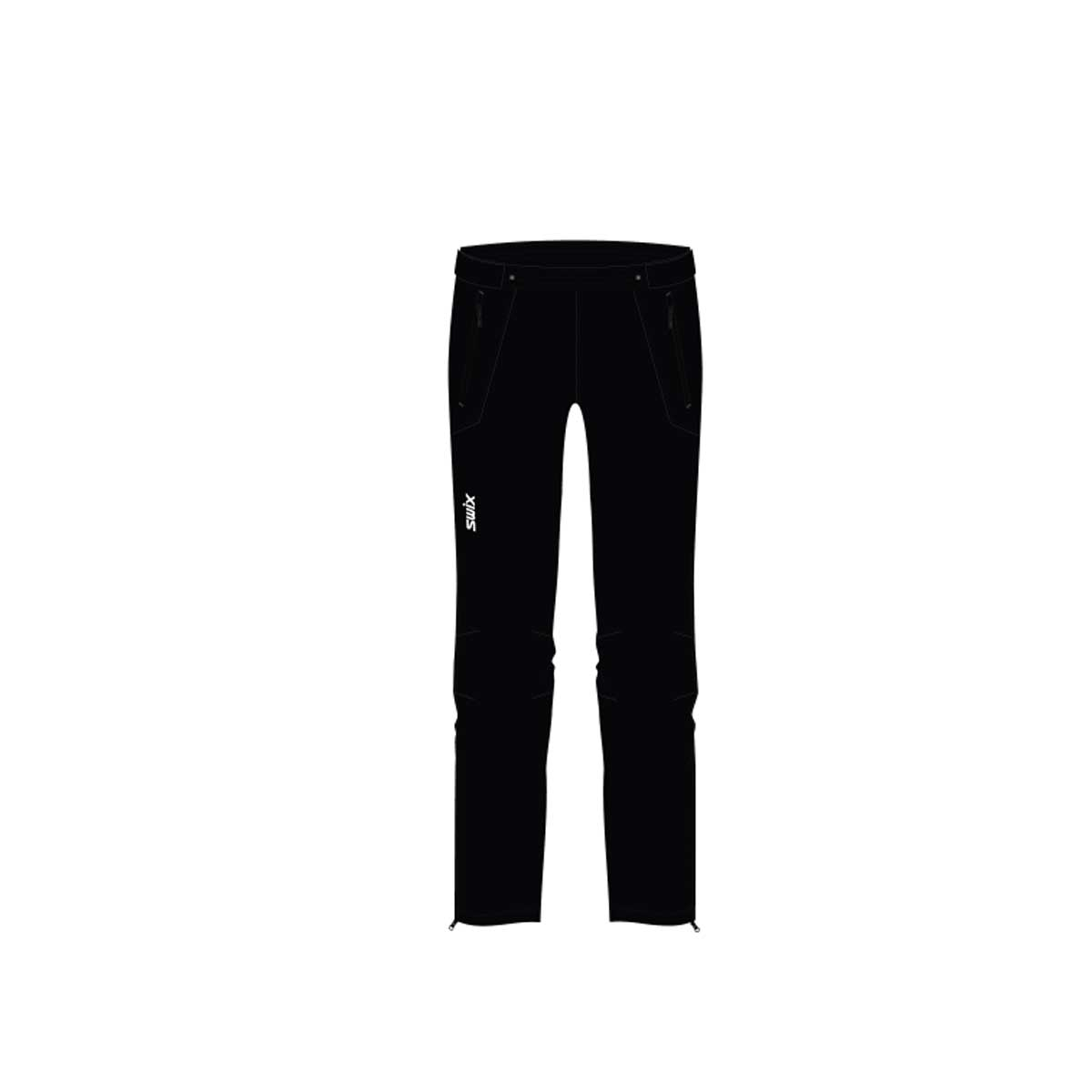 Swix Kids' Universal X Pant in Black