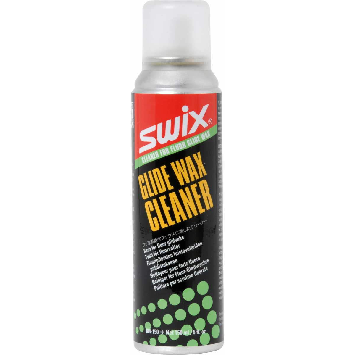 Swix I84 Cleaner Fluoro Glidewax in 150ml size