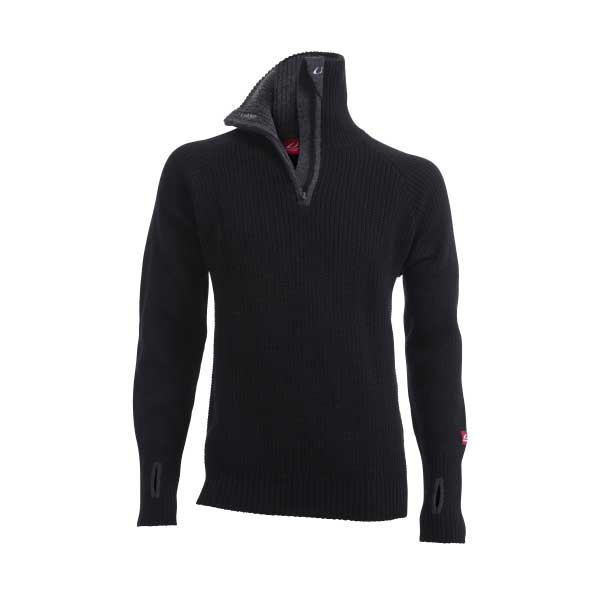 Swix Men's Rav Sweater with Zip in Charcoal