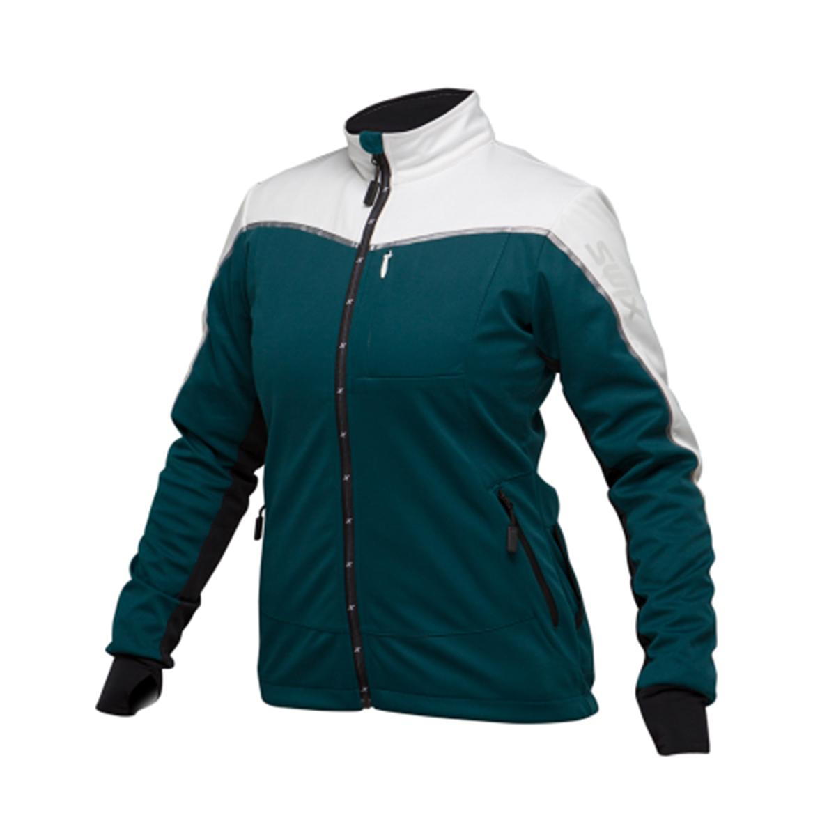 Swix Women's Delda Light Softshell Jacket in Spruce