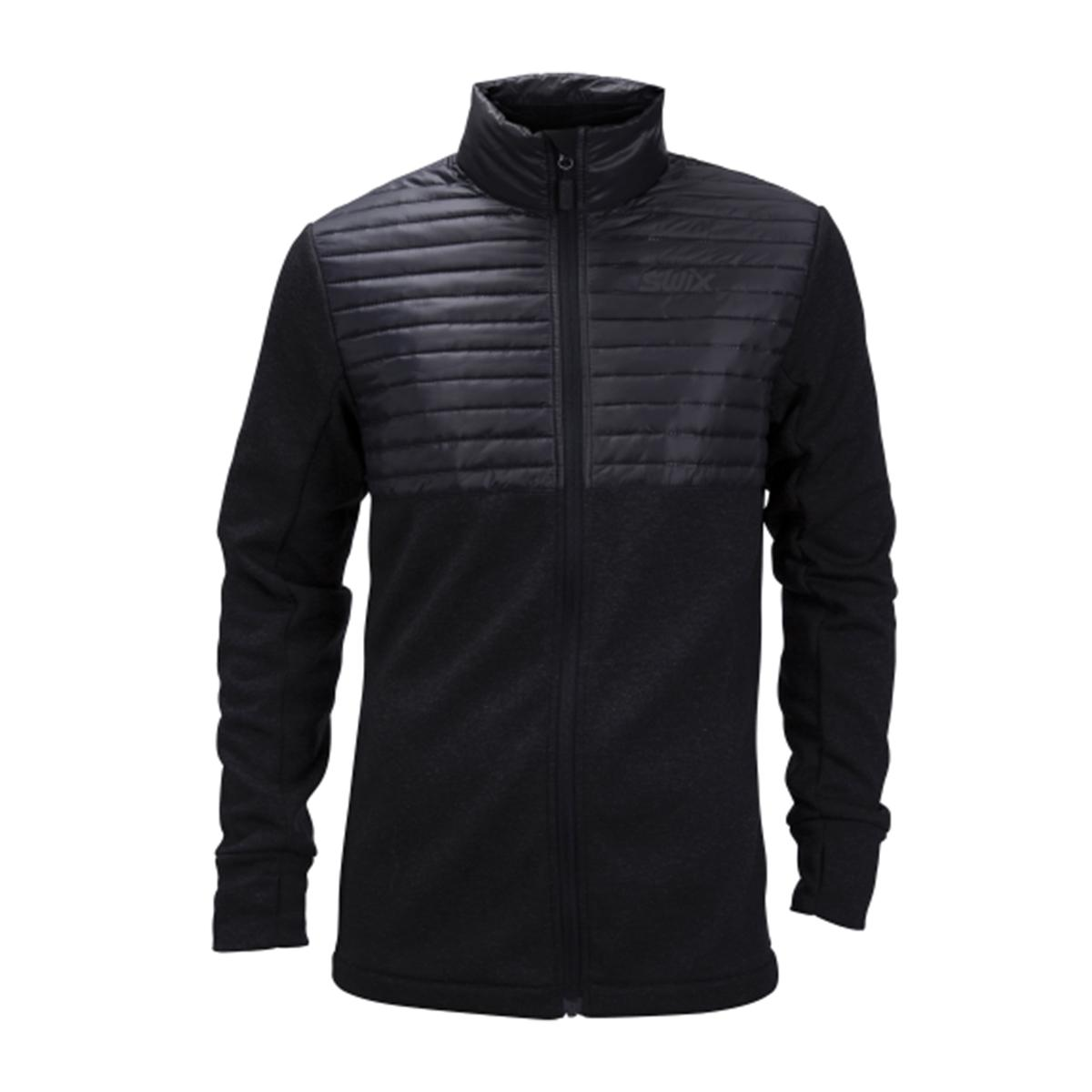 Swix Men's Blizzard Hybrid Jacket in Black