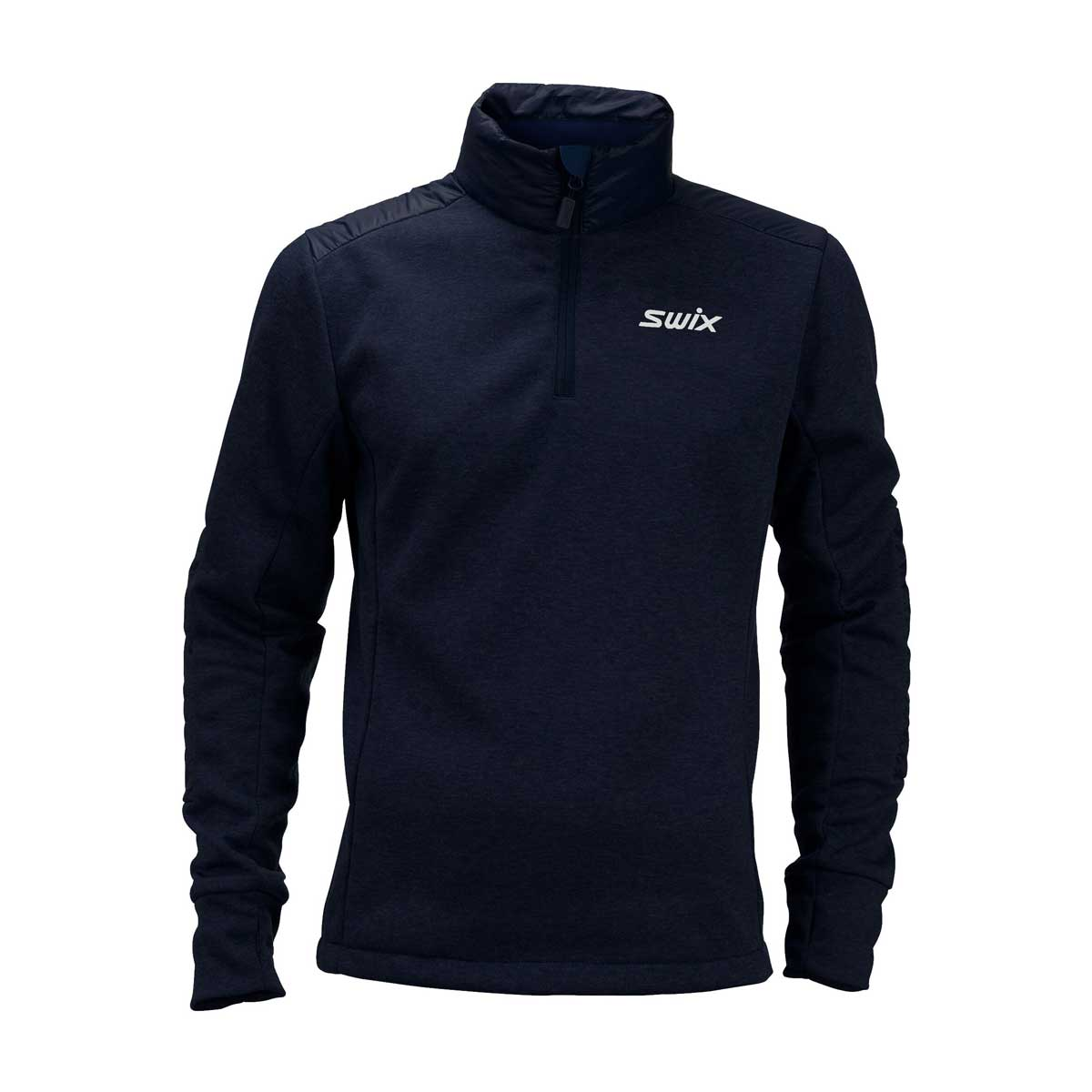 Swix Men's Blizzard 1/2 Zip Top in Dark Navy
