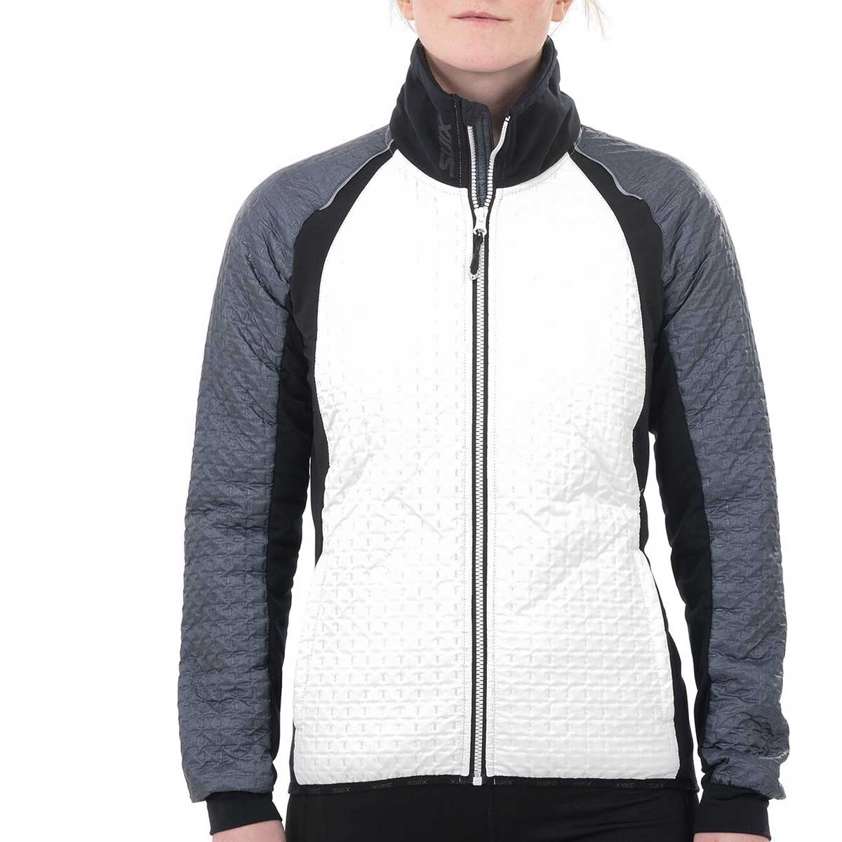 Swix Women's Menali Quilted Jacket in Snow White