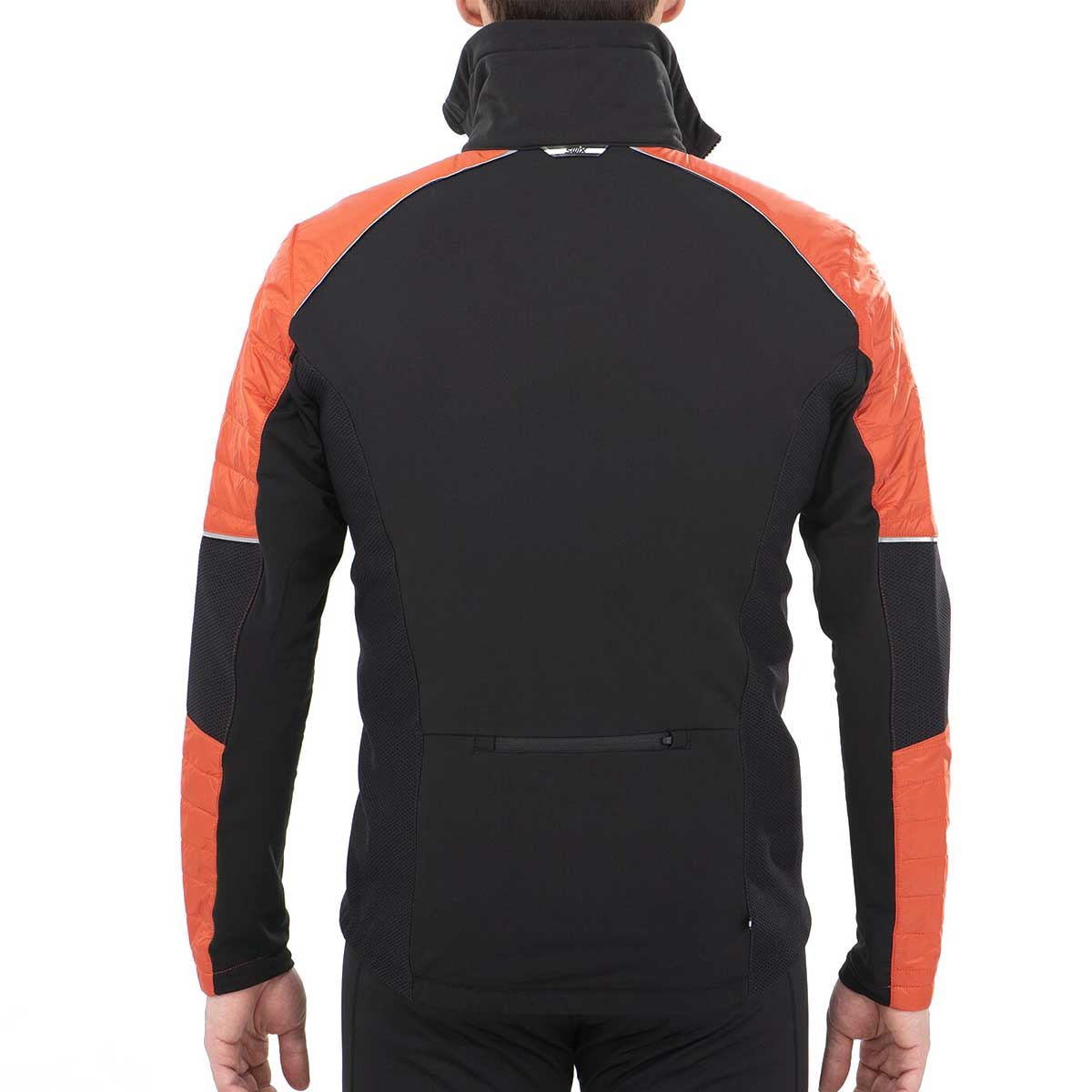 Swix Men's Keltten Hybrid Jacket in Burnt Orange