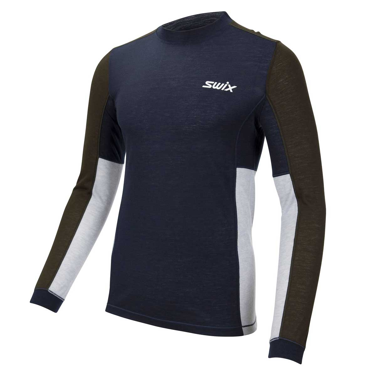 Swix Aspire Wool Blend Long Sleeve Top - Men's